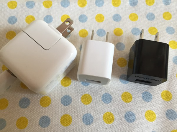 USB充電アダプター