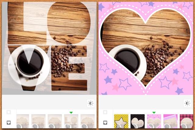 フレームが多いアプリおすすめ!iPhoneで人気のおしゃれ・可愛い・ふわふわ・ハートの枠で写真加工しよう