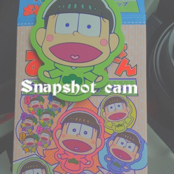 Snapshot camの使い方 Foggyフィルターでかわいく加工 無料から有料に