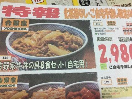 ヨシケイ吉野家牛丼の具8セット