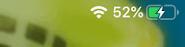 iPadのイナズマ充電マーク